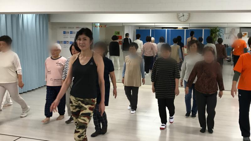 「姿勢と歩き方教室」「筋膜リリース体操」