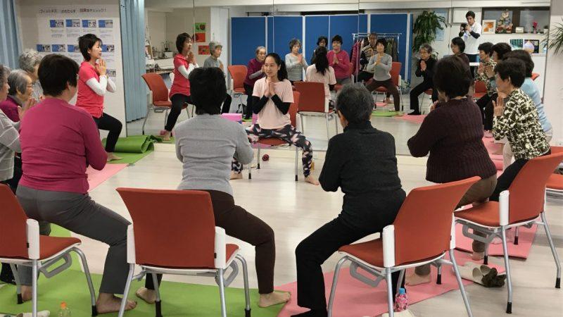 チェアヨガ〜イスに座って足腰・股関節強化〜