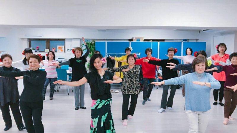 「有酸素運動のコアフラフィットネス」「青春の曲と共にフラダンスを踊ろう」