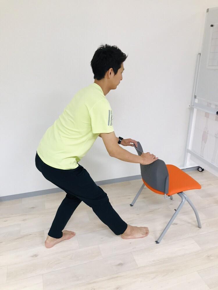股関節・下半身を筋膜リリース