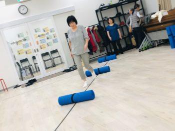 姿勢と歩き⽅教室