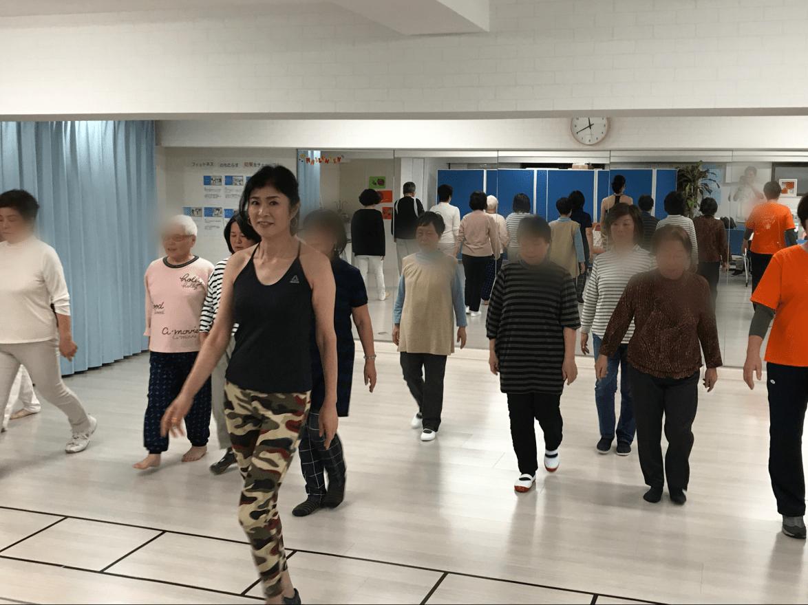 姿勢と歩き方教室